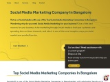 Social Media Marketing Agency in Bangalore
