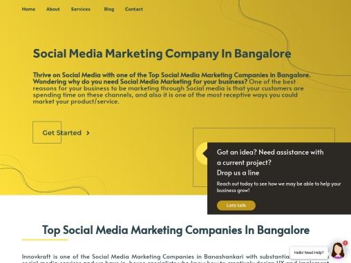 Top Social Media Marketing Companies In Bangalore