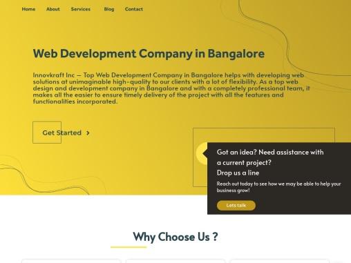 Web   Design   in Bangalore