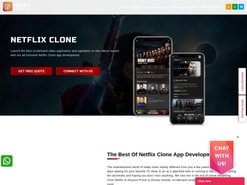 Improve your revenue model with a Netflix clone app and relaunch your business