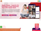 Launch your video meeting app with our custom-built Zoom clone script