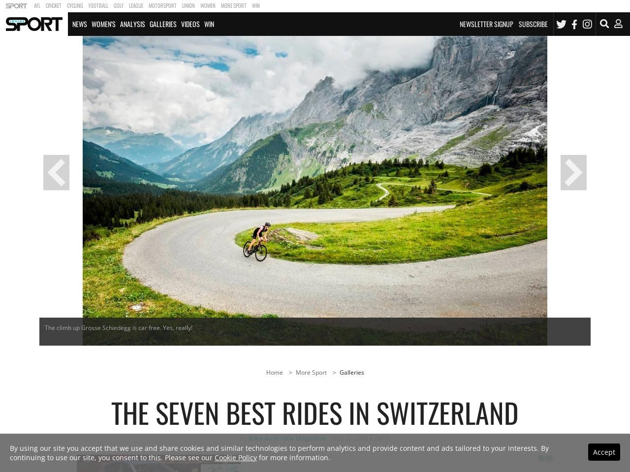 The seven best rides in Switzerland