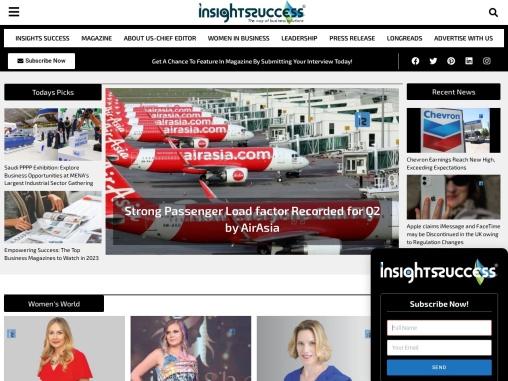 Insights Success business magazine