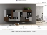 Custom Made Bespoke Bookshelves And Bespoke Cabinets in the UK