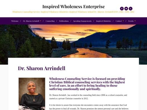 Inspired Wholeness Enterprise by Dr. Sharon Arrindell