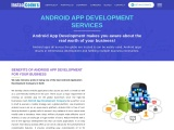 Android App Development Services Company in Noida, Delhi, NCR