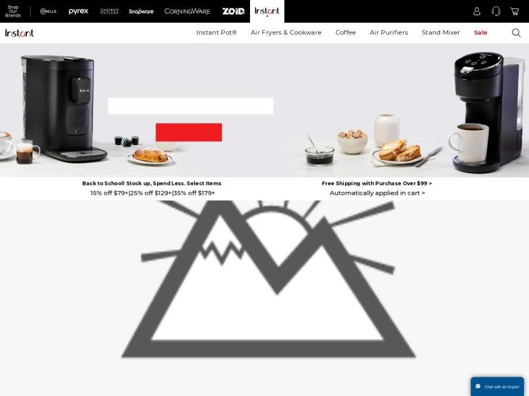 Instant Brands screenshot