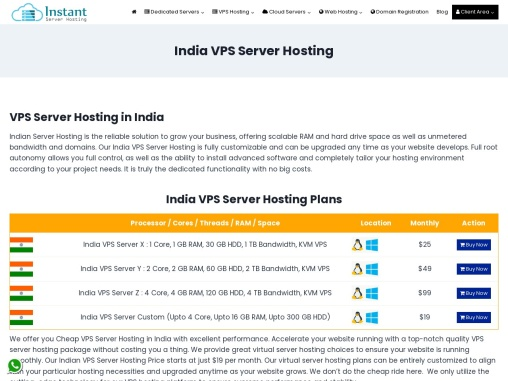 Onlive Server Bring India VPS With Robust Network