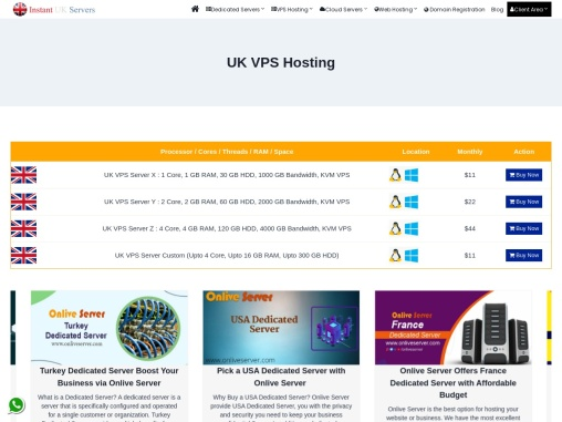 UK VPS Server Hosting with Amazing Packages and Affordable Price