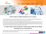 Web Design and Digital Marketing Services Company Noida