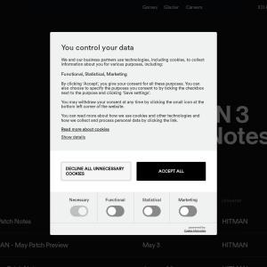 Patch Notes HITMAN 3 - IO Interactive