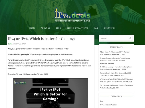 IPv4 vs IPv6: What's the Difference?  IPv4 or IPv6 for gaming