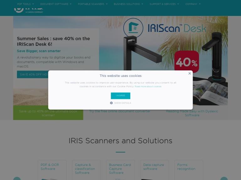 IRIS Link screenshot