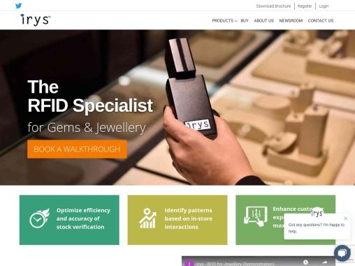 RFID jewelry management   Irys Group