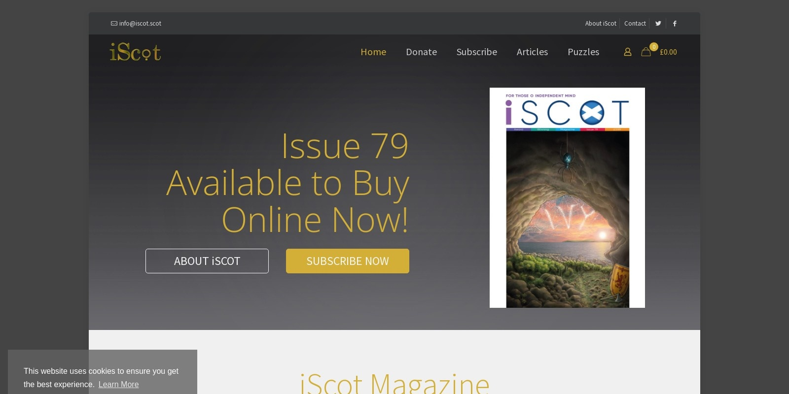 Preview of https://www.iscot.scot/
