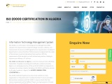 ISO 20000 certification consultancy in Algeria