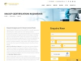 HACCP Certification in Consulting Services Bahrain