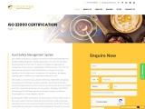 ISO 22000 certification consulting service in Belarus | TopCertifier