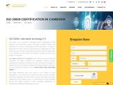 ISO 20000 certification consultancy in Cambodia