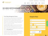 ISO 22000 certification consultancy in Egypt