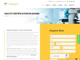 HACCP certification consulting service in Ghana | TopCertifier