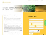 ISO 14001 Certification in Iraq.