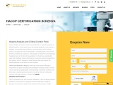 HACCP Certification Consulting Services in Kenya   TopCertifier