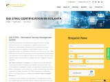 ISO 27001 Certification in Kolkata | TopCertifier