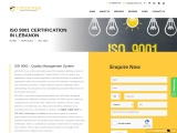 ISO 9001 certification consulting service in Lebanon | TopCertifier