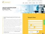 HACCP certification consultancy in Malaysia