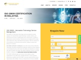 ISO 20000 certification consultancy in Malaysia