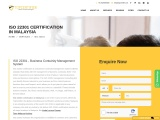 ISO 22301 certification consultancy in Malaysia