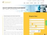 HACCP certification consultancy in Myanmar