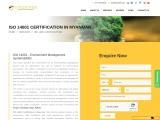 ISO 14001 Certification in Myanmar