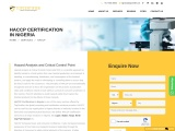 HACCP Certification Consulting Services in Nigeria | TopCertifier