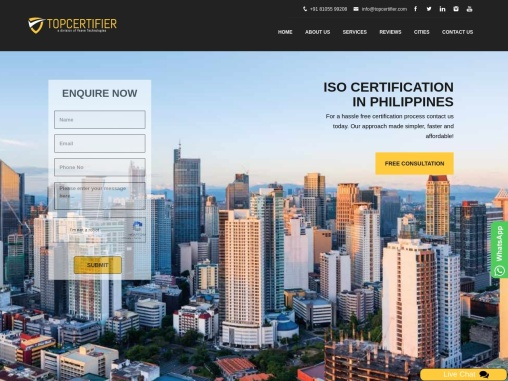 ISO Certification in philippines|location