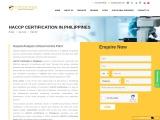 Haccp Certification in philipines|Topcertifier