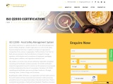 ISO 22000 certification consulting service in Portugal | TopCertifier