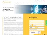 ISO 20000 CERTIFICATION IN RWANDA | TOPCERTIFIER