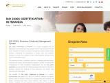 ISO 22301 CERTIFICATION IN RWANDA | TOPCERTIFIER