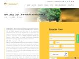 ISO 14001 Certification Consultancy in Sri lanka