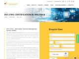 ISO 27001 certification consulting service in Sri Lanka | TopCertifier