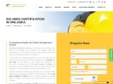 ISO 45001 certification consulting service in Sri Lanka | TopCertifier