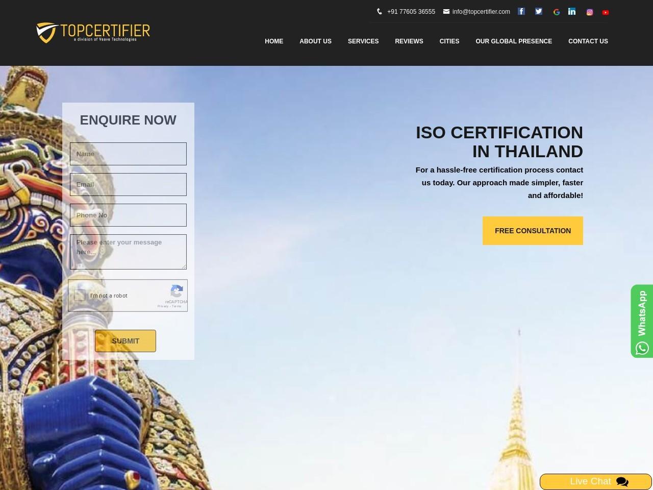 HACCP Certification Consultancy in Thailand