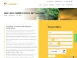 ISO 14001 Certification Consultancy in Thailand