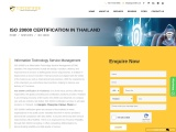 ISO 20000 Certification Consultancy in Thailand