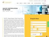 HACCP Certification Consultancy in Vietnam