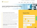 HACCP Certification in South Africa | Free Consultation