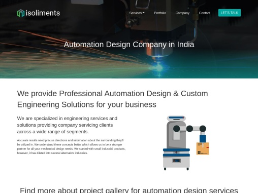 Industrial Automation  |   Automation Design Services
