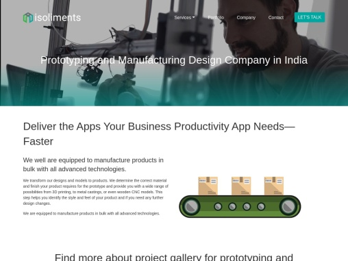 Prototype Design Services | Manufacturing & Engineering Services